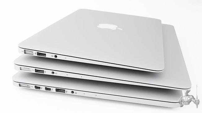 nouveau macbook air dans les bacs