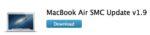 MacBook : des mises à jour pour la batterie